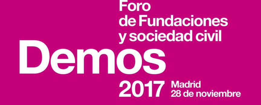 La Fundación Dolores Sopeña acude al Foro Demos 2017