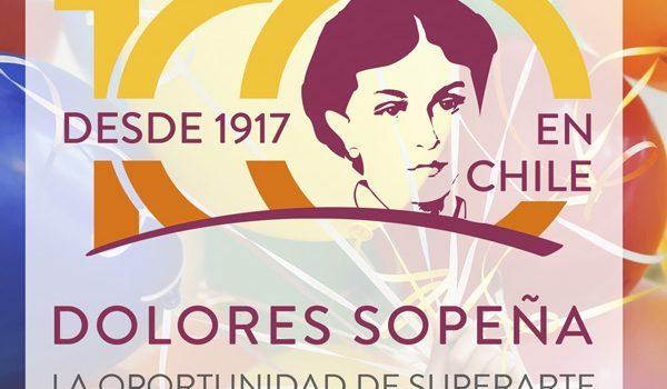 La Corporación Dolores Sopeña cumple cien años formando a personas adultas en Chile