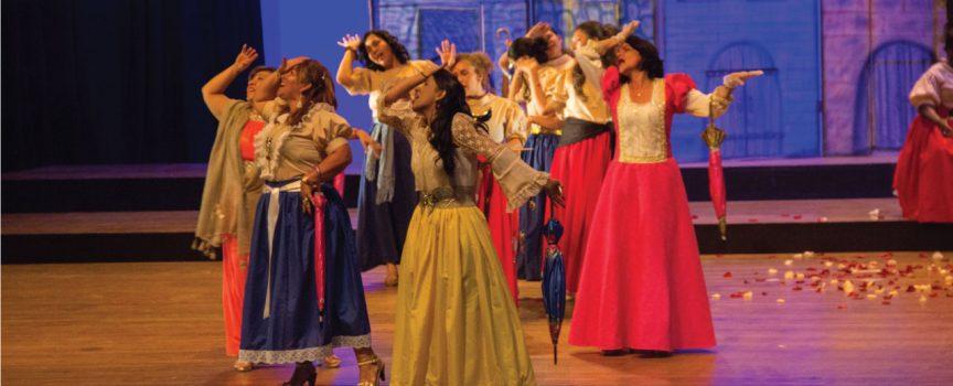 Dolores Sopeña en el teatro