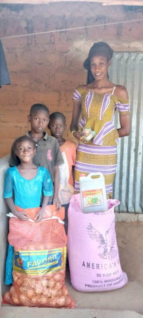 Familia en Gambia