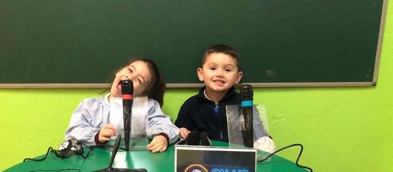 Niños en Radio Sopeña